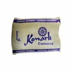 Konark Cement, Cement Grade: Grade 43, Packaging Size: 50 Kg