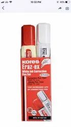 Kores Eraz Ex White Ink Correction Pen Set