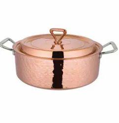 Venus Milano Copper Pot with Lid
