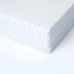 Plastic Corrugated Sign Board