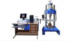 Servo Controlled Endurance Testing Machine For Rubber Pads