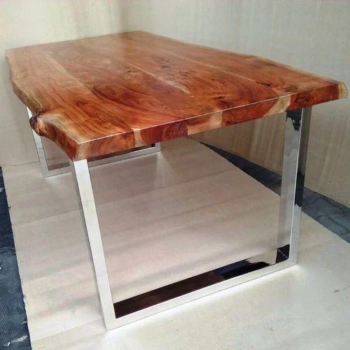 Live Edge Furniture Natural Slab Dining Table