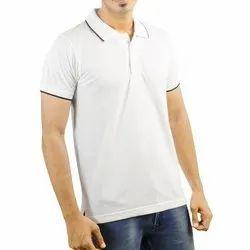 Mens Half Sleeve Collar T Shirts