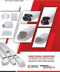PVC ac duct and accessories