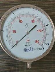 250mm Pressure Gauges