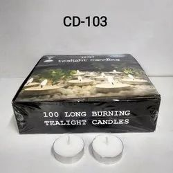 CD-103 T-Light Candle 100 Pc (10 Gm.)
