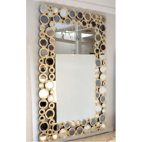 Wall Decorative Mirror 1 To 5 Mm Rs 500 Piece Choudhary Art Glass Work Id 20250126988