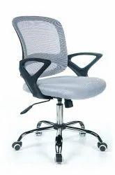 H2 Bent Grey Workstation Revolving Chair