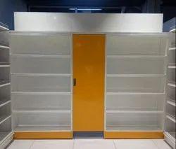 Pridiyos Mild Steel Shoe Rack, For Shop, 5