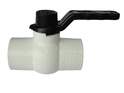 PVC Solid White Ball Valves