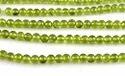 Peridot Smooth Plain Round Gemstone Beads