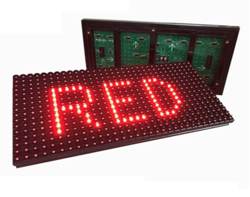 new style d6c6e 5ecfe P10 Red Led Module