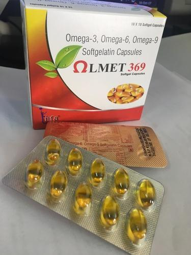 Omega 3 6 9 Or Flax Seed Oil Capsules Packaging Size 10x10