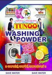Action Lemon Tunoo Washing Powder M.R.P. - 2/- for Laundry