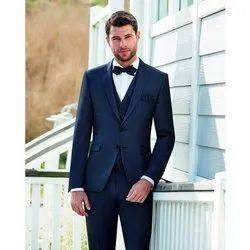 Slim Fit Koxa Costumes Mens Navy Blue Formal Blazer