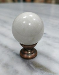 Ramdev Handicrafts Marble Door Knobs