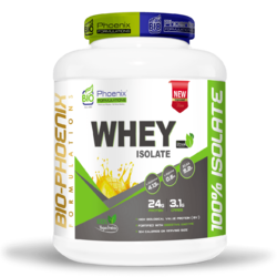 Whey Isolate sweetened with Stevia