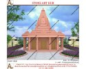Pink Marble Temple