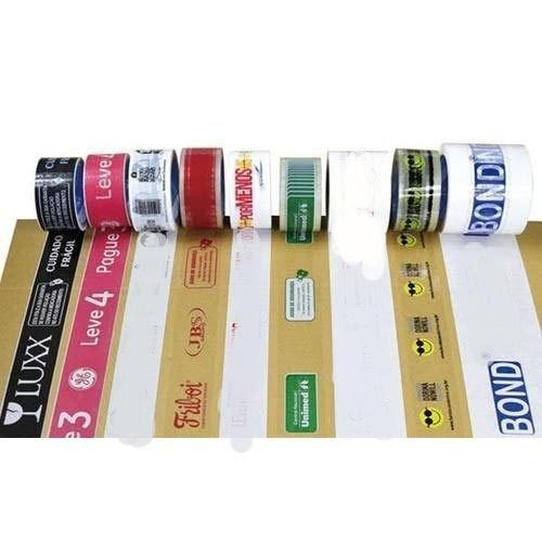 Hirani POlyplast 1 inch Printed BOPP Tapes, for Packaging