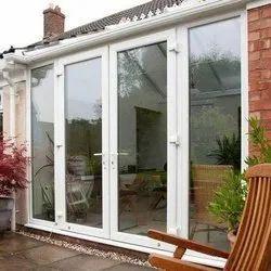 UPVC Sliding & Open Window's, Glass Thickness: 5