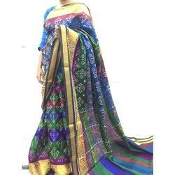Multi Color Silk Patola Saree