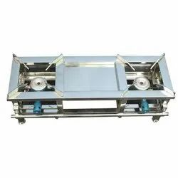 Commercial SS Double Gas Stove