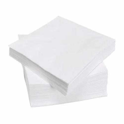 White Plain Paper Napkin