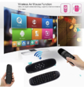 ROQ Air Mouse Rechargeable Mini Wireless Keyboard for Android TV Box