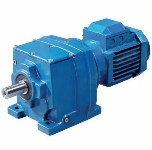 AC/DC Helical Geared Motor