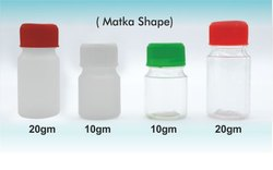 Bio Homeopathic Matka Shape Tablet Container