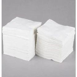 White Plain Dinner Paper Napkin