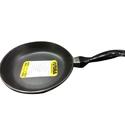 Black Aluminium Futura Frying Pan