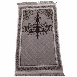 Multicolor Muslim Prayer Mat, Size: 70*110 cm