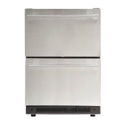 double door Bottom Freezer Undercounter Refrigerator, 0-20, Capacity: 440LTR