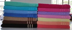 Cotton Plain Terry Towels, for Bathroom