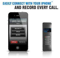 iPhone  Cell Phone Call Recording Device