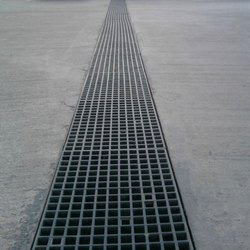 Thermodrain FRP Grating