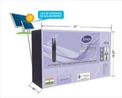 Solar Operated Automatic Sanitary Napkin Machine