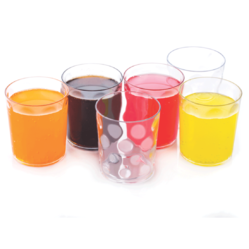 National Transparent Plastic Drinking Glass, for Home