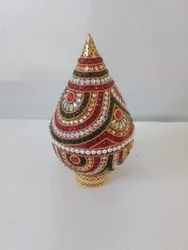 Decorated Kalash with Coconut Cases