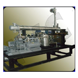 Steam Jet Ejector for Distillation Application