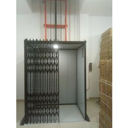 Double Mast Hydraulic Channel Gate Goods Lift