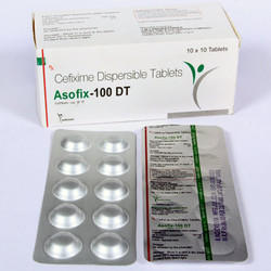 Cefixime 100mg Dispersible Tablets