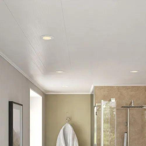 Bathroom PVC Ceiling Panel, Thickness: 5-8 mm, Rs 90 ...