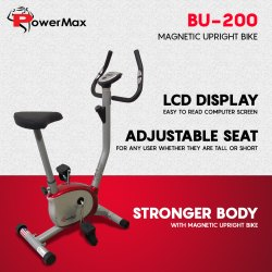 BU-200 Magnetic Upright Bike