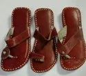Women Handcrafted Ethnic Genuine Leather Kolhapuri Chappal