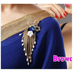 1c65917c912 SM Jewellery Silver Women's Saree Brooch, Rs 165 /piece, S.M. ...