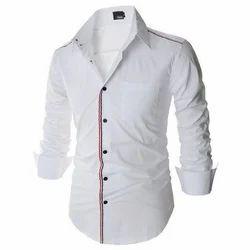 Cotton/Linen Mens Casual Shirt