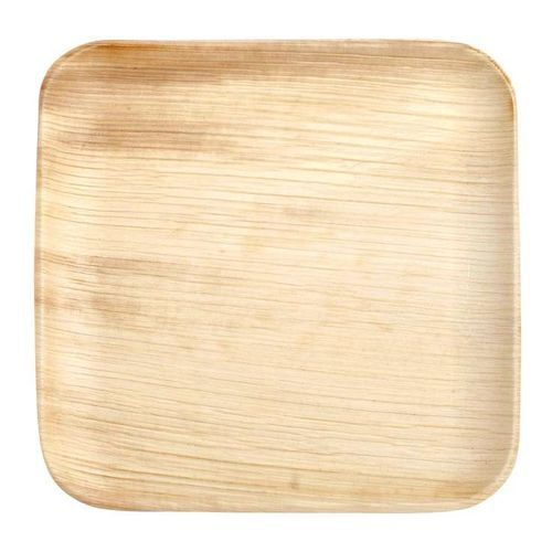 Disposable Areca Palm Leaf Square Plate  sc 1 st  IndiaMART & Disposable Areca Palm Leaf Square Plate Chaukor Plate ???? ...