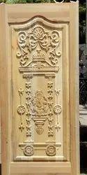 Teak Wooden Door - Pure Natural Medicated, For Home